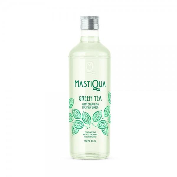 """""""Mastiqua"""" Green Tea Sparkling Drink, 0,33 L"""