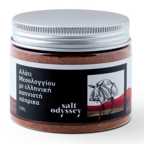 ´Salt Odyssey´Meersalz mit geräuchertem Paprika,150 g