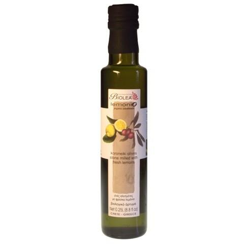 Biolea Lemonio Olivenöl mit Bio-Zitronen 250 ml