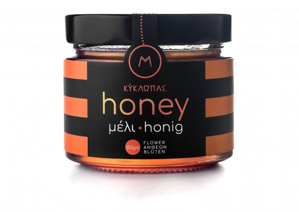 Kyklopas Premium Wildblüten Honig, 350 g