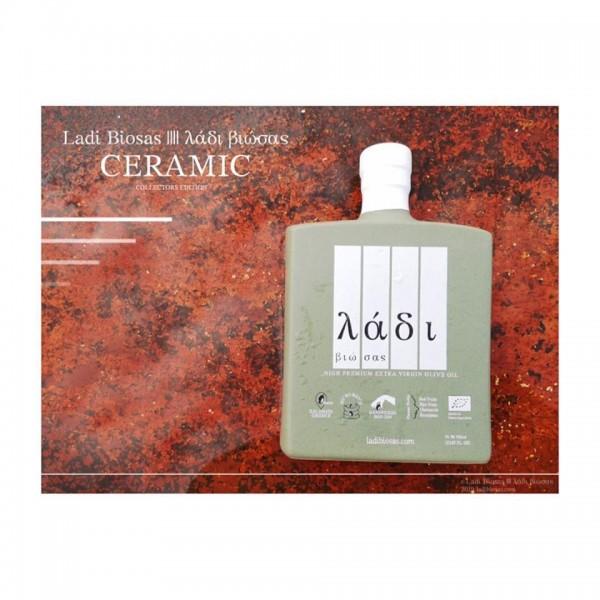Ladi Biosas Ceramic Bio High Premium Olive Oil, 700 ml