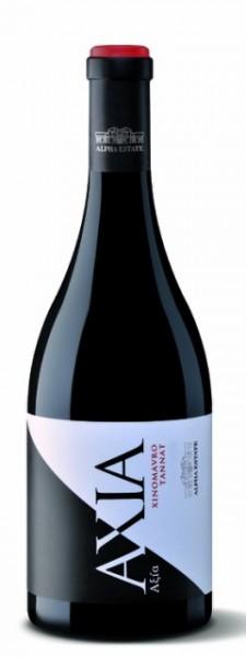 2014 Alpha Estate Axia Xinomavro Tannat Premium Rotwein, 0,75 Liter