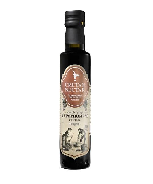 Cretan Nectar Carob Sirup - Johannisbrotsirup, 250 ml