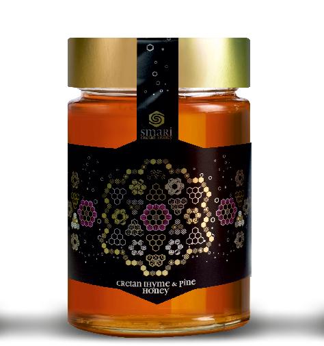 Kretischer Premium Thymian-und Pinien Honig, 460 g