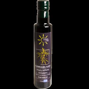 Hanföl ungefiltert, kaltgepresst, 250 ml