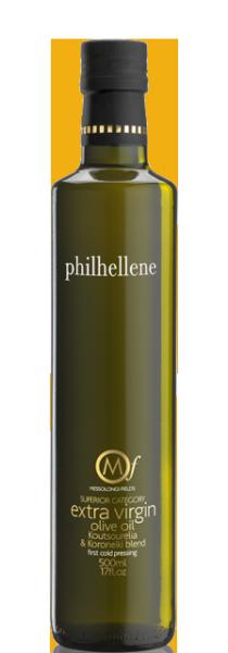 Messolongi Philhellene Premium Olivenöl Koutsourelia/Koroneiki, 500 ml