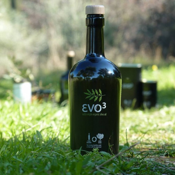 εvoᶾ extra Bio, Premium Olivenöl aus Lesbos, 500 ml