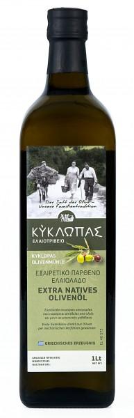 Kyklopas Extra Natives Olivenöl, 1 Liter