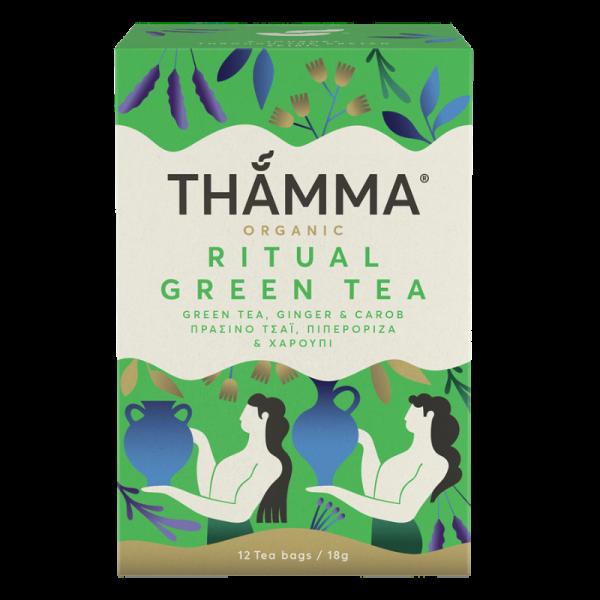"Bio Ritual Grüner Tee ""Thamma"" aus Kreta, 12×1,5g Beutel"