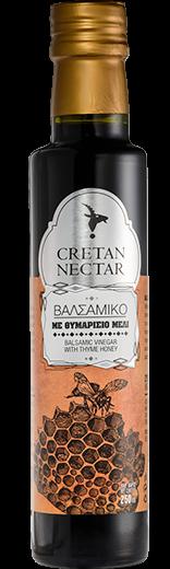 Cretan Nectar Balsamico Essig mit Thymianhonig, 250 ml