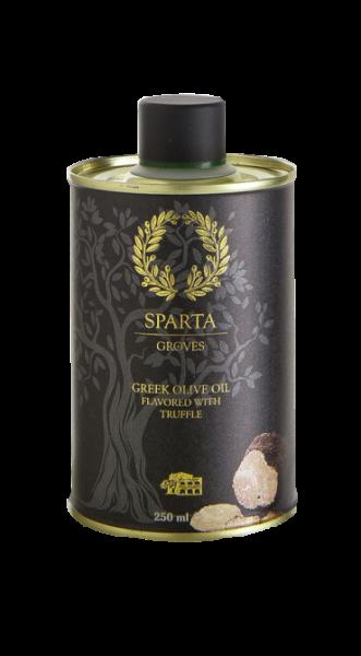 Kretisches Olivenöl mit Trüffel Aroma, 250 ml